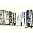 Многоэтажные жилые дома в Орехово-Борисове