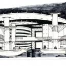 Интерьер вестибюля «Госинкорстрой»
