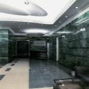 Вестибюль офисной части здания