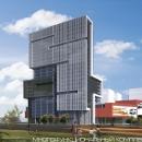 Вид на многофункциональный комплекс с Головинского шоссе