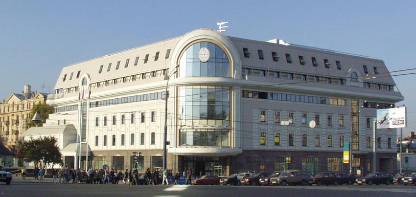 Торгово-офисный центр на Сухаревской площади